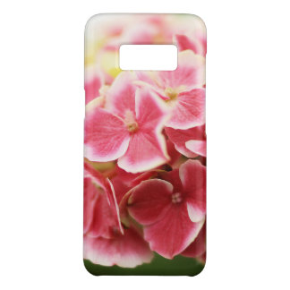 Capa Case-Mate Samsung Galaxy S8 Hydrangea cor-de-rosa do vintage floral