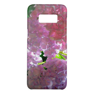 Capa Case-Mate Samsung Galaxy S8 Hydrangeas cor-de-rosa brilhantes