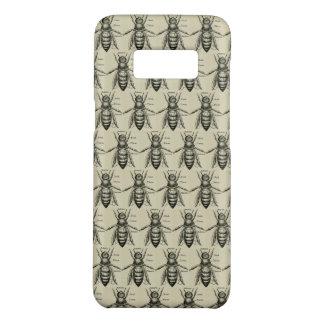 Capa Case-Mate Samsung Galaxy S8 Ilustração da abelha do vintage