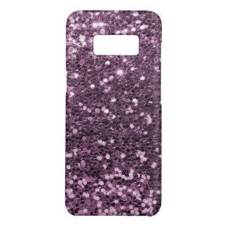 Capa Case-Mate Samsung Galaxy S8 Impressão roxo do brilho do falso da lavanda Glam