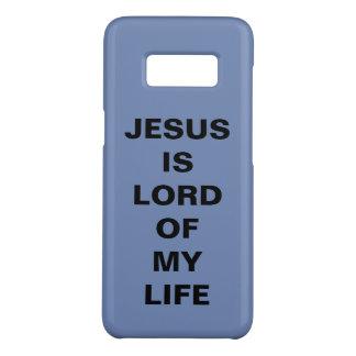 """Capa Case-Mate Samsung Galaxy S8 """"Jesus é caixa da galáxia S8 do senhor Meu Vida"""""""