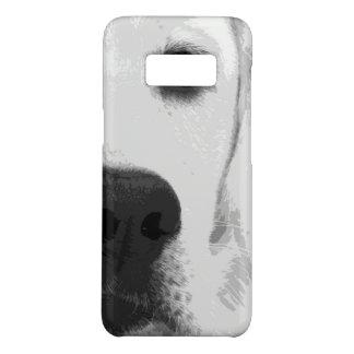 Capa Case-Mate Samsung Galaxy S8 Labrador retriever preto e branco