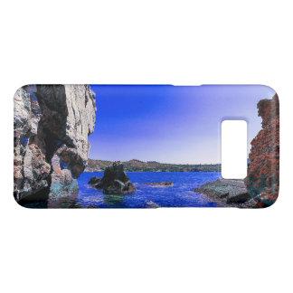 Capa Case-Mate Samsung Galaxy S8 Lagoa rochosa tropical