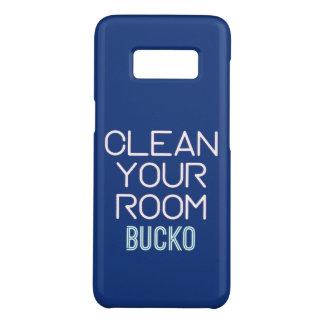 Capa Case-Mate Samsung Galaxy S8 Limpe sua sala Bucko
