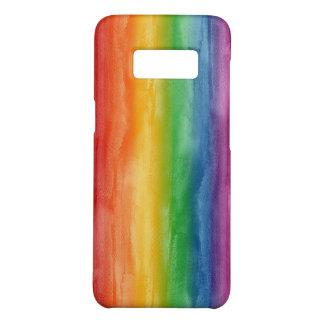 Capa Case-Mate Samsung Galaxy S8 Listras do arco-íris da aguarela