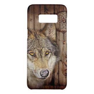 Capa Case-Mate Samsung Galaxy S8 Lobo ideal ocidental do indiano do nativo