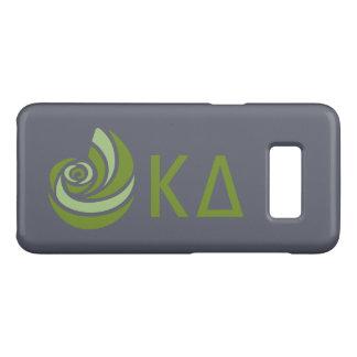 Capa Case-Mate Samsung Galaxy S8 Logotipo grande de Lil do delta do Kappa