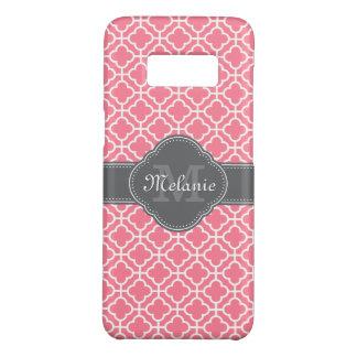 Capa Case-Mate Samsung Galaxy S8 Luz - obscuridade marroquina branca cor-de-rosa do