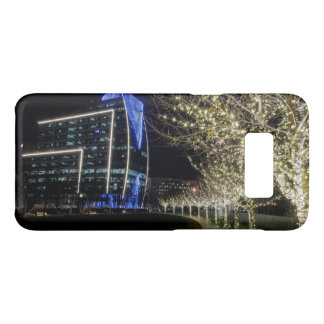 Capa Case-Mate Samsung Galaxy S8 Luzes da árvore no parque de Klyde Warren