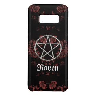 Capa Case-Mate Samsung Galaxy S8 Malva eterno gótico do Pentacle
