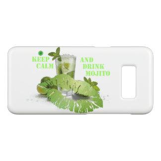 Capa Case-Mate Samsung Galaxy S8 Mantenha Mojito calmo