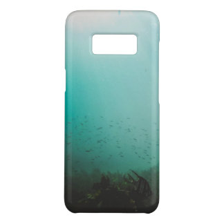 Capa Case-Mate Samsung Galaxy S8 mar azul subaquático