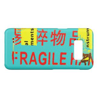Capa Case-Mate Samsung Galaxy S8 Marcações FRÁGEIS - caráteres asiáticos LEGAL