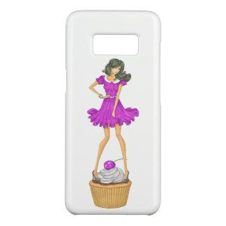 Capa Case-Mate Samsung Galaxy S8 Menina com cupcake