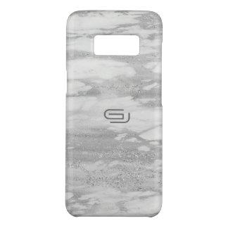 Capa Case-Mate Samsung Galaxy S8 Monograma de mármore do costume da textura do