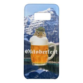 Capa Case-Mate Samsung Galaxy S8 Montanhas bonitos de Oktoberfest do Chipmunk