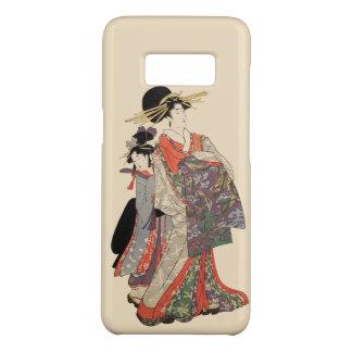 Capa Case-Mate Samsung Galaxy S8 Mulher no quimono colorido (impressão do japonês