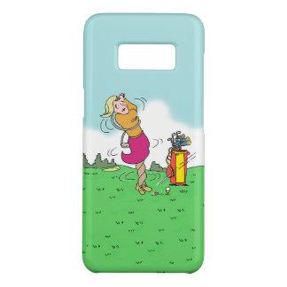 Capa Case-Mate Samsung Galaxy S8 Mulher que joga o golfe