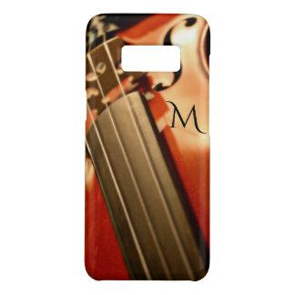 Capa Case-Mate Samsung Galaxy S8 Música do violino do monograma