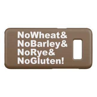 Capa Case-Mate Samsung Galaxy S8 NoWheat&NoBarley&NoRye&NoGluten! (branco)