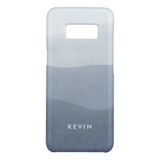 Capa Case-Mate Samsung Galaxy S8 O abstrato moderno elegante das cinzas listra o