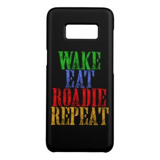 Capa Case-Mate Samsung Galaxy S8 O acordar come a repetição de ROADIE