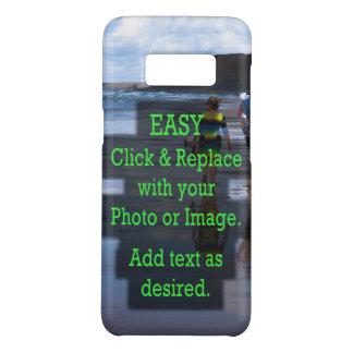 Capa Case-Mate Samsung Galaxy S8 O clique simples e substitui a imagem para criar