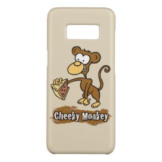 Capa Case-Mate Samsung Galaxy S8 O design insolente do macaco tem o macaco apreciar