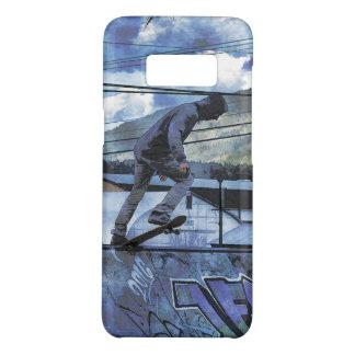 Capa Case-Mate Samsung Galaxy S8 O Grunge das belas artes do Skate-pensionista