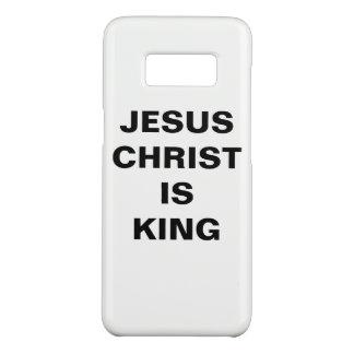 """Capa Case-Mate Samsung Galaxy S8 O """"Jesus Cristo é caixa da galáxia S8 do rei"""""""
