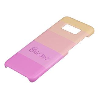 Capa Case-Mate Samsung Galaxy S8 O Pastel listra | personalizado