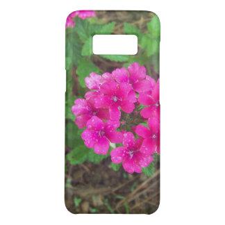 Capa Case-Mate Samsung Galaxy S8 O verbena cor-de-rosa bonito floresce a foto