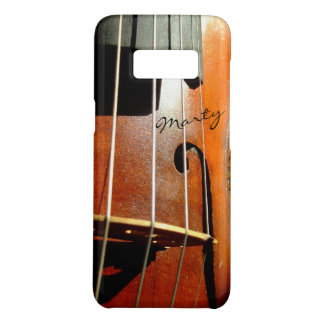 Capa Case-Mate Samsung Galaxy S8 O vintage autografou o violino ou o violoncelo