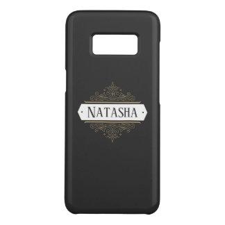 Capa Case-Mate Samsung Galaxy S8 O vintage ornamentado do ouro roda na obscuridade