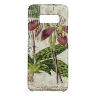 Capa Case-Mate Samsung Galaxy S8 orquídea botânica francesa do roxo do chique da
