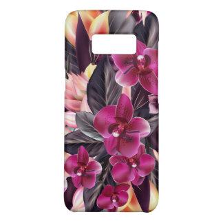 Capa Case-Mate Samsung Galaxy S8 Orquídeas. Design tropical com flores bonitas