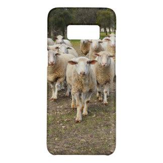Capa Case-Mate Samsung Galaxy S8 Os carneiros vêm marchando em Hurrah,
