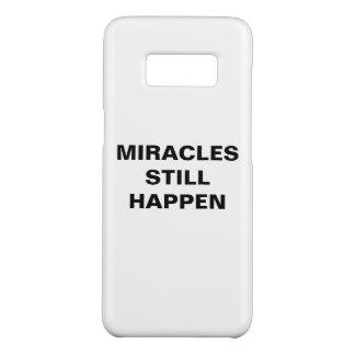 """Capa Case-Mate Samsung Galaxy S8 Os """"milagre ainda acontecem"""" caixa da galáxia S8"""