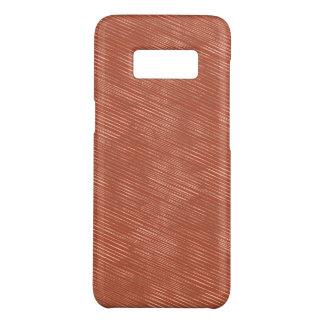 Capa Case-Mate Samsung Galaxy S8 Ouro cor-de-rosa Textured