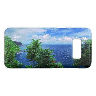 Capa Case-Mate Samsung Galaxy S8 Paraíso tropical da ilha havaiana