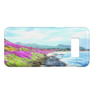 Capa Case-Mate Samsung Galaxy S8 Paraíso tropical da linha costeira da ilha