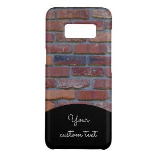 Capa Case-Mate Samsung Galaxy S8 Parede de tijolo - tijolos e almofariz misturados