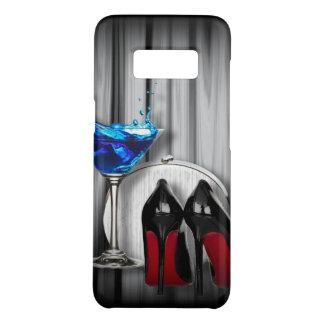 Capa Case-Mate Samsung Galaxy S8 party girl azul de martini dos estiletes femininos