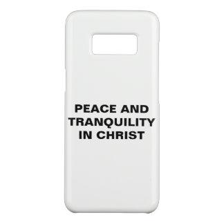 "Capa Case-Mate Samsung Galaxy S8 ""Paz e tranquilidade caixa da galáxia S8 no"