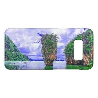 Capa Case-Mate Samsung Galaxy S8 Penhascos tropicais da ilha da floresta húmida