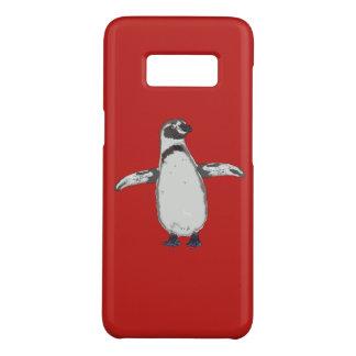 Capa Case-Mate Samsung Galaxy S8 Pinguim dos desenhos animados