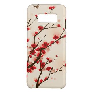 Capa Case-Mate Samsung Galaxy S8 Pintura asiática do estilo, flor da ameixa no