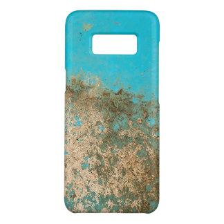Capa Case-Mate Samsung Galaxy S8 pintura suja de turquesa