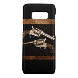 Capa Case-Mate Samsung Galaxy S8 Pistolas retros do país ocidental do vaqueiro do