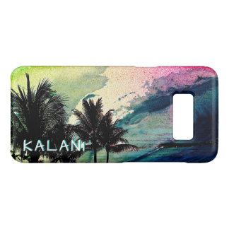 Capa Case-Mate Samsung Galaxy S8 PixDezines surfa Up/Hawaii/Waves